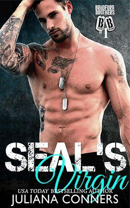 SEAL's Virgin by author Juliana Conners. Book One cover.